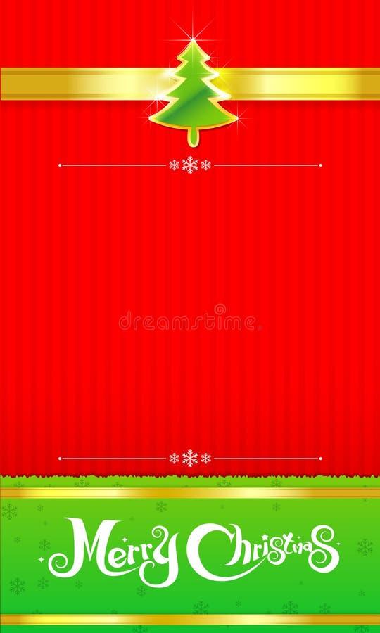 fondo de la Navidad 017-Merry ilustración del vector