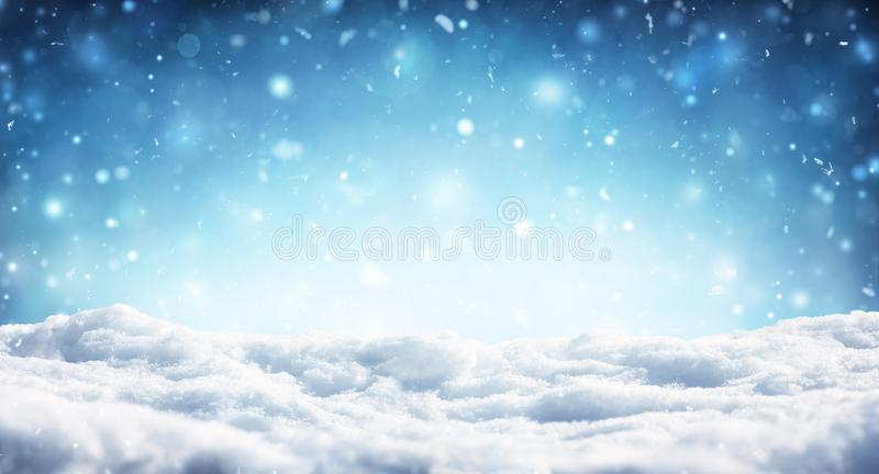 Fondo de la Navidad Nevado - nevadas imagenes de archivo
