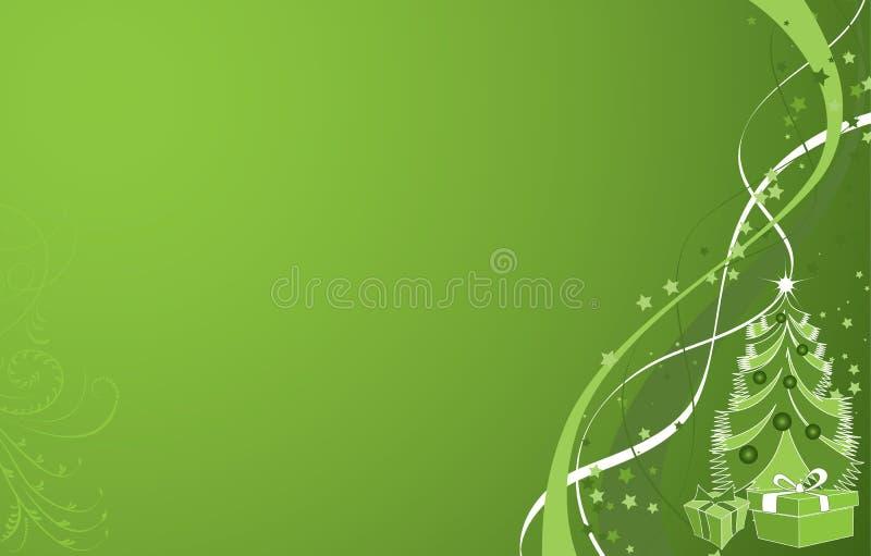 Fondo de la Navidad, vector stock de ilustración