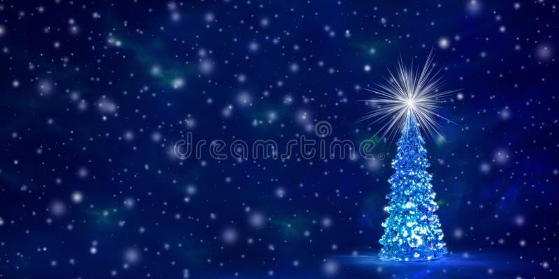Fondo de la Navidad y del Año Nuevo con el espacio libre para el texto stock de ilustración