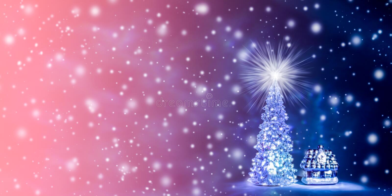 Fondo de la Navidad y del Año Nuevo en el color natural del coral vivo - el color del año 2019 ilustración del vector