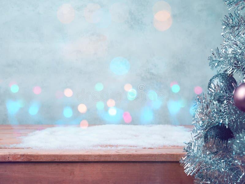Fondo de la Navidad y del concierto del Año Nuevo fotografía de archivo libre de regalías