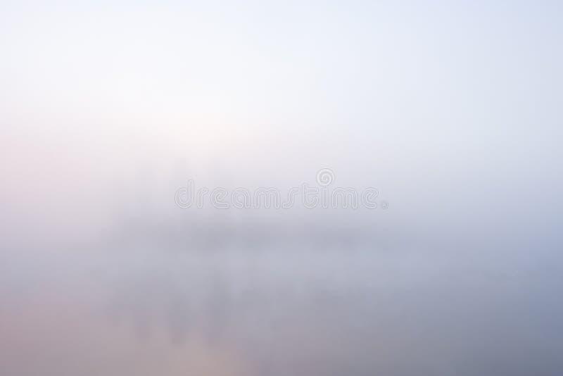 Fondo de la niebla fotografía de archivo
