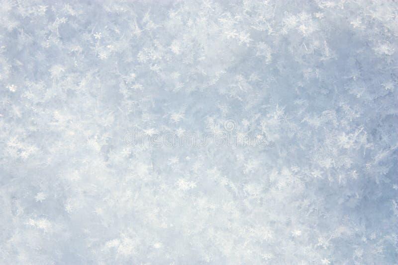 Fondo de la nieve imagenes de archivo