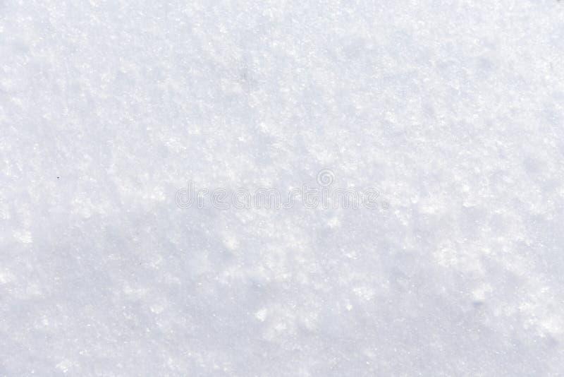 Fondo de la nieve fresca fotografía de archivo libre de regalías