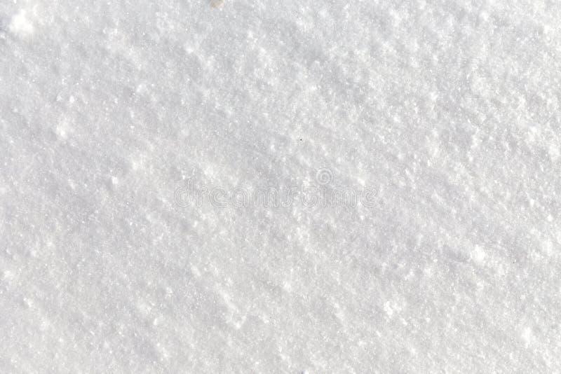 Fondo de la nieve fresca imágenes de archivo libres de regalías