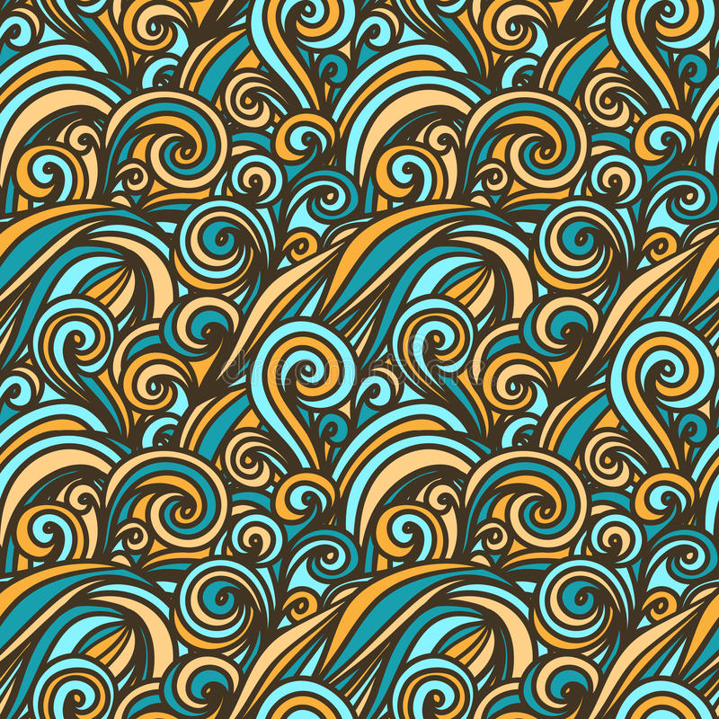 Fondo de la onda libre illustration