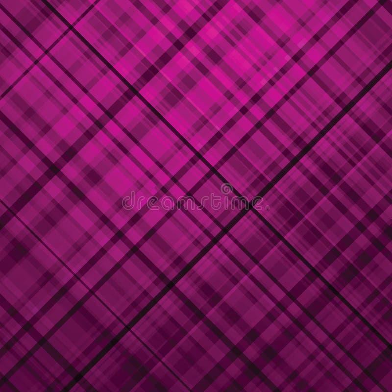 Fondo de la púrpura del tartán de Wallace. EPS 8 libre illustration