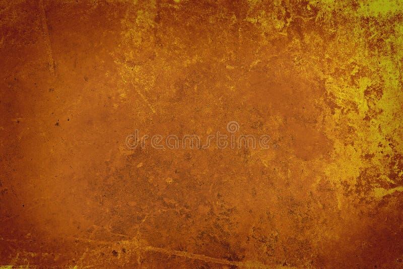 Fondo de la pared de Brown del Grunge ilustración del vector
