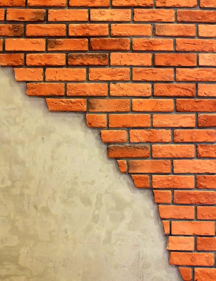 Fondo de la pared de ladrillo de Grunge imagen de archivo