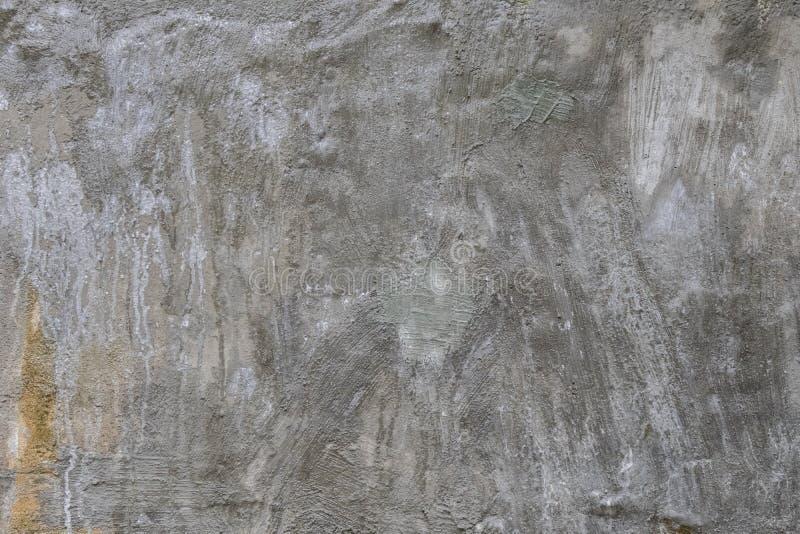 Fondo de la pared del cemento, lado de la pared constructiva abandonada foto de archivo libre de regalías