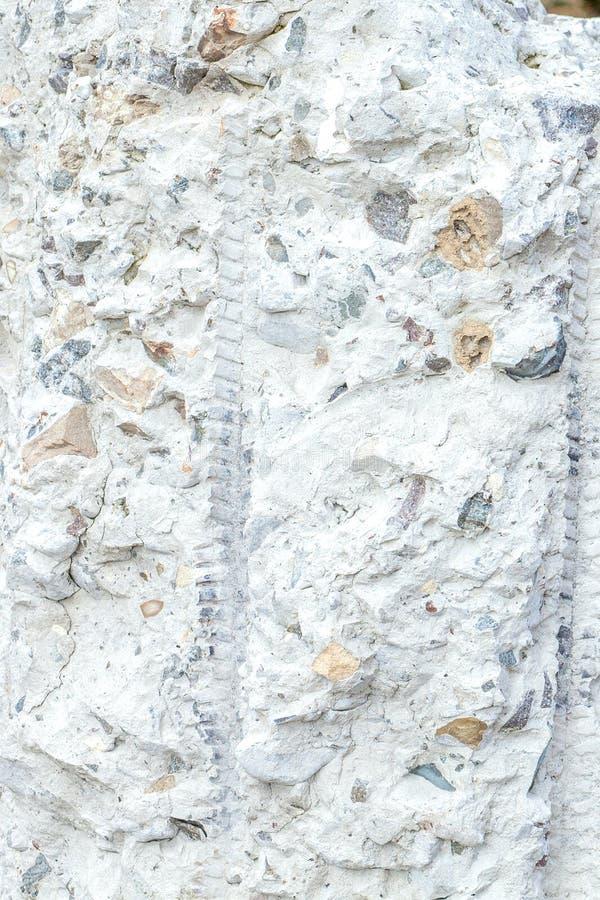 Fondo de la pared del yeso y estilo de piedra concretos agrietados envejecidos de la textura fotografía de archivo libre de regalías
