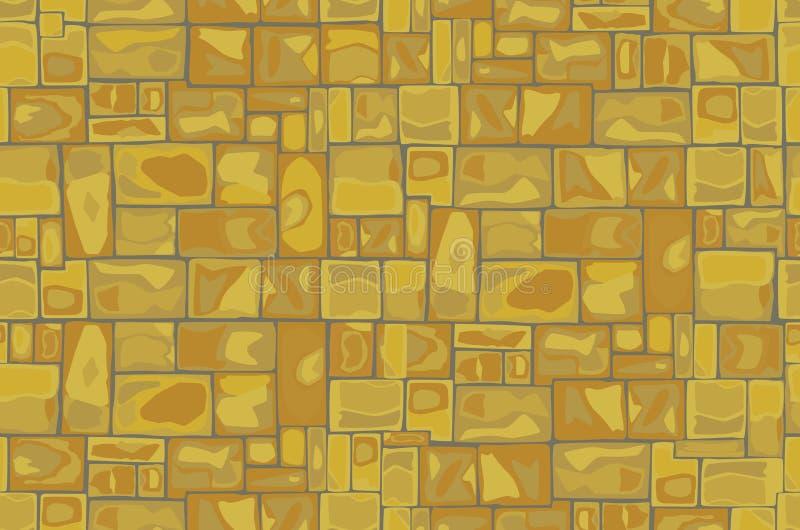 Fondo de la pared de piedra ilustración del vector