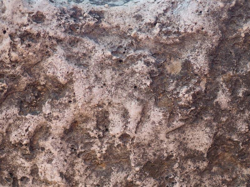 Fondo de la pared de piedra, textura marrón imagen de archivo libre de regalías