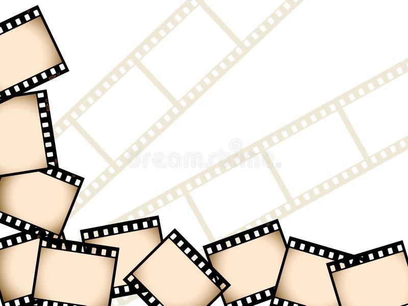 Fondo de la película fotografía de archivo