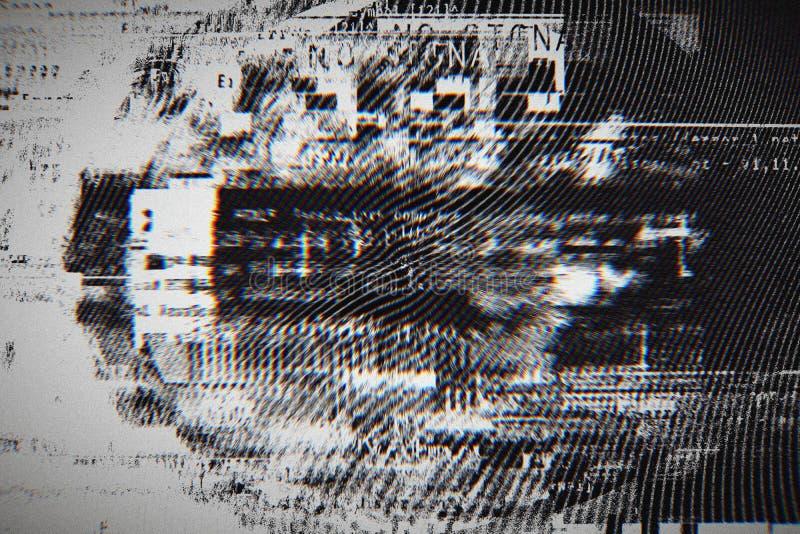 Fondo de la pendiente con el efecto de la interferencia, modelo universal foto de archivo libre de regalías