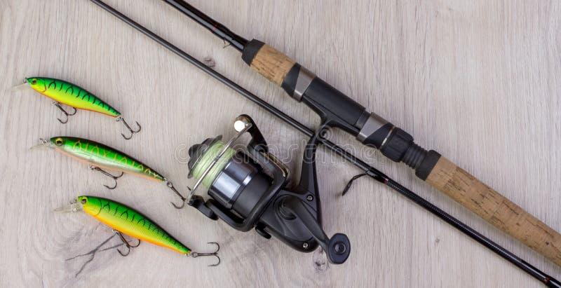 Fondo de la pesca deportiva imágenes de archivo libres de regalías