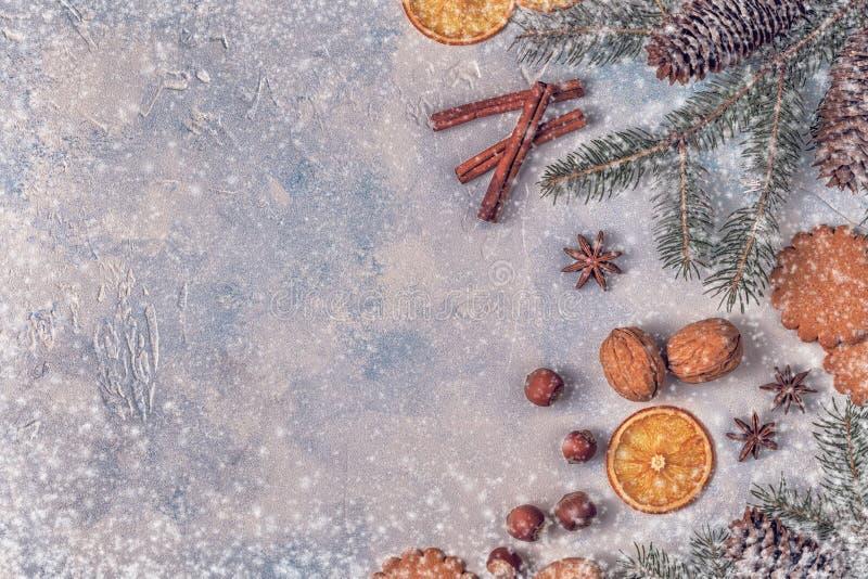 Fondo de la piedra de la luz de la Navidad fotografía de archivo libre de regalías