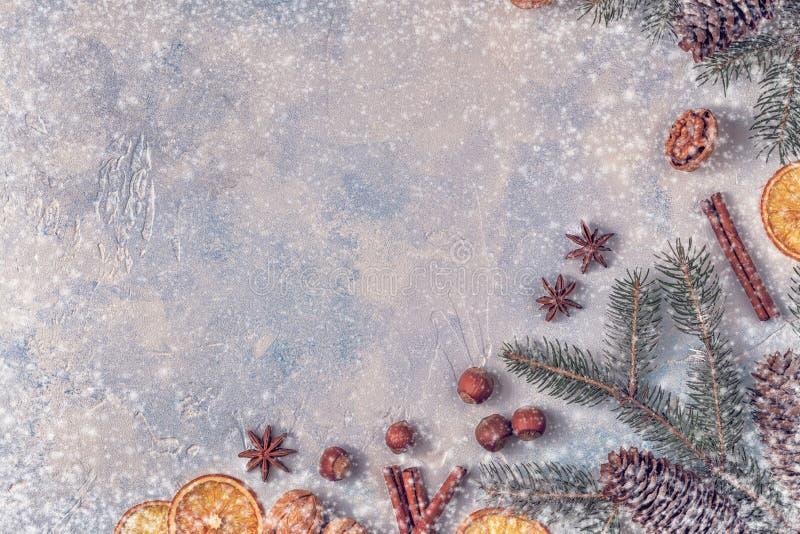 Fondo de la piedra de la luz de la Navidad foto de archivo libre de regalías