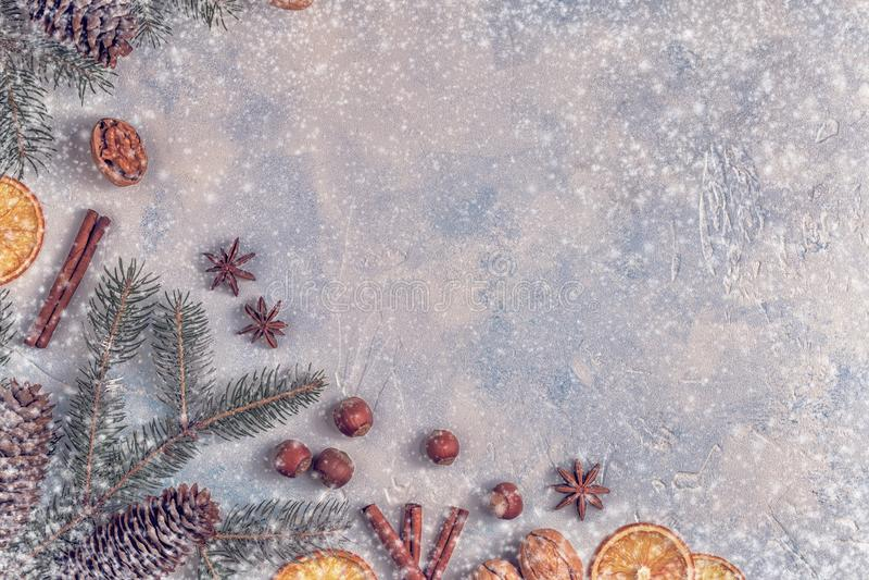 Fondo de la piedra de la luz de la Navidad imagen de archivo libre de regalías