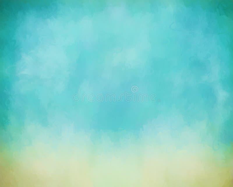 Fondo de la pintura del cielo libre illustration