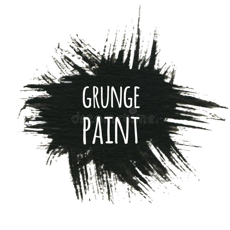 Fondo de la pintura del Grunge, ejemplo del vector para su diseño ilustración del vector