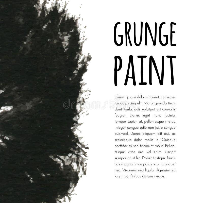 Fondo de la pintura de Grunge Ilustración del vector para su agua dulce de design libre illustration