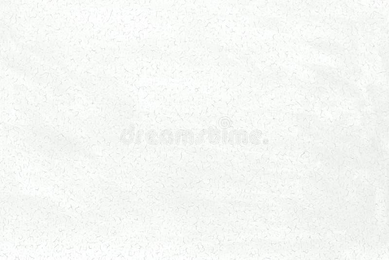 Fondo de la pintura lavada blanco agrietado Textura de la pared vieja imagen de archivo