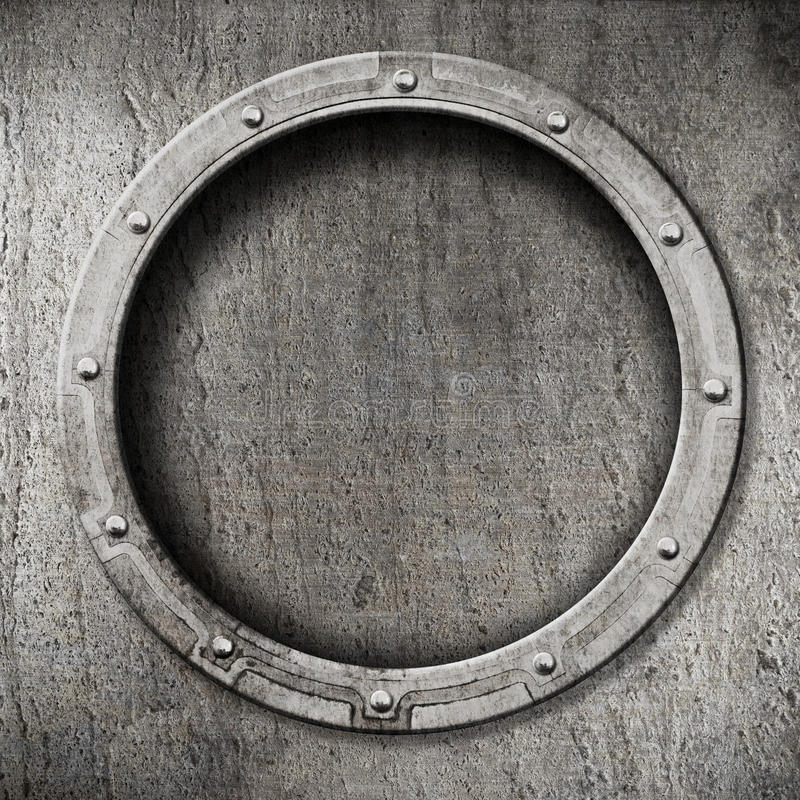 Fondo de la porta del metal foto de archivo