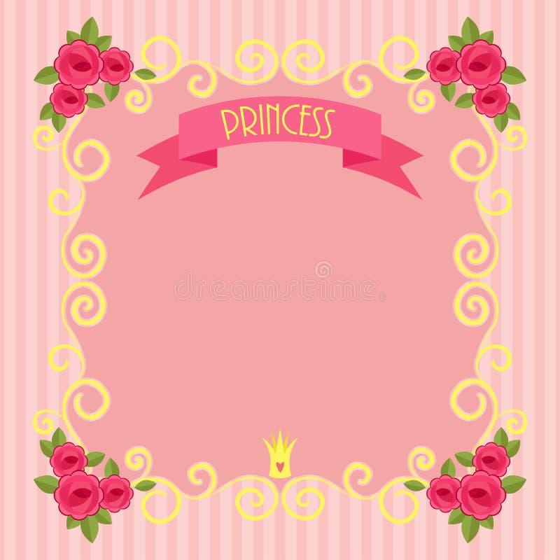 Fondo de la princesa libre illustration