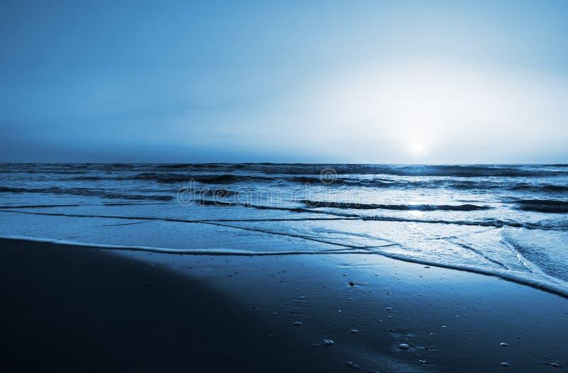 Fondo de la puesta del sol foto de archivo
