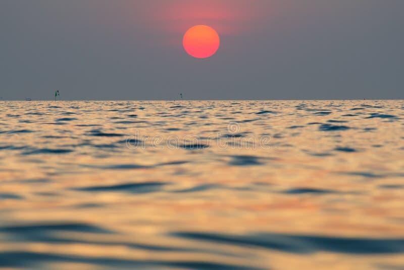Fondo de la puesta del sol/de la salida del sol imágenes de archivo libres de regalías
