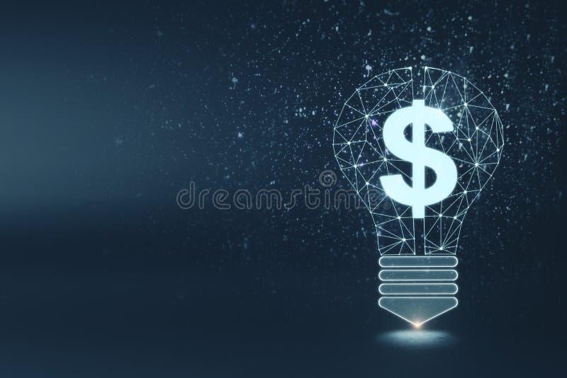 Fondo de la riqueza, de la idea, del dinero y de la innovación libre illustration