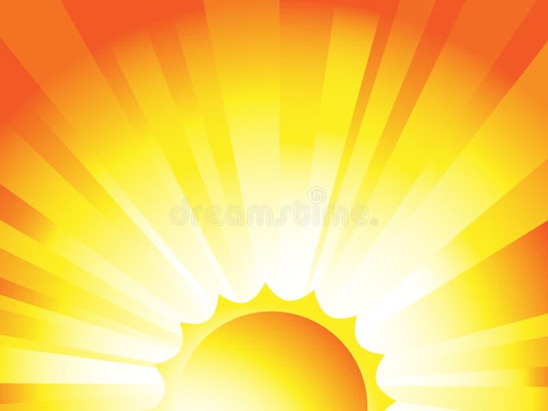 Fondo de la salida del sol libre illustration