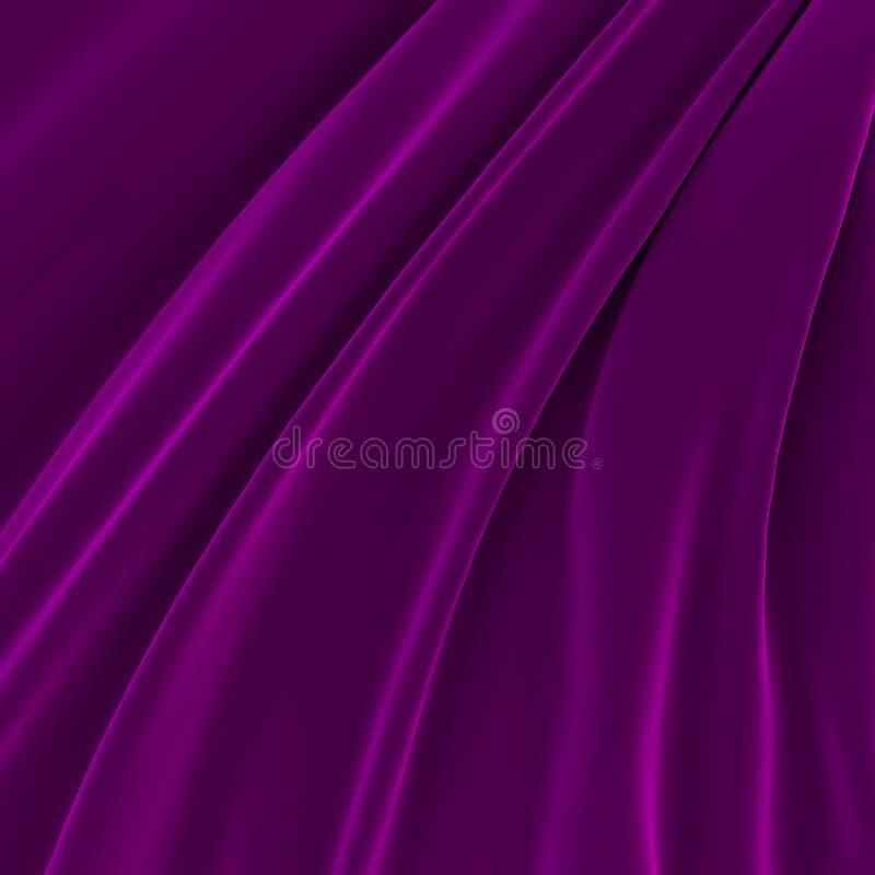 Fondo de la seda brillante púrpura libre illustration