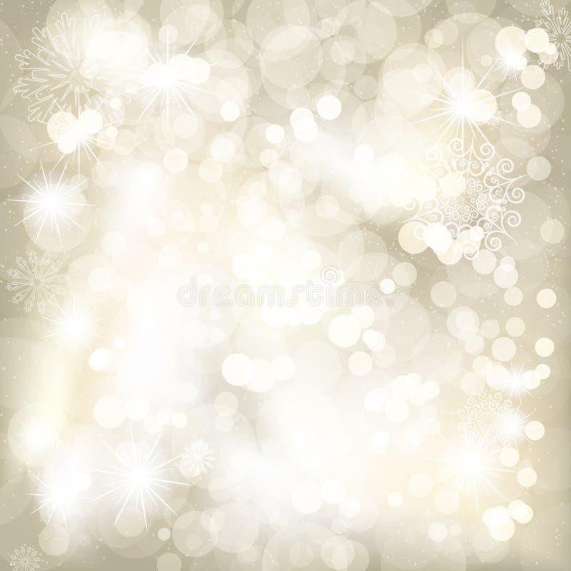 Fondo de la sepia de la Navidad. fotos de archivo