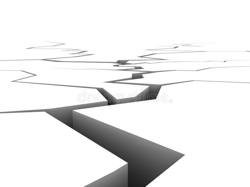Fondo de la sequía ilustración del vector