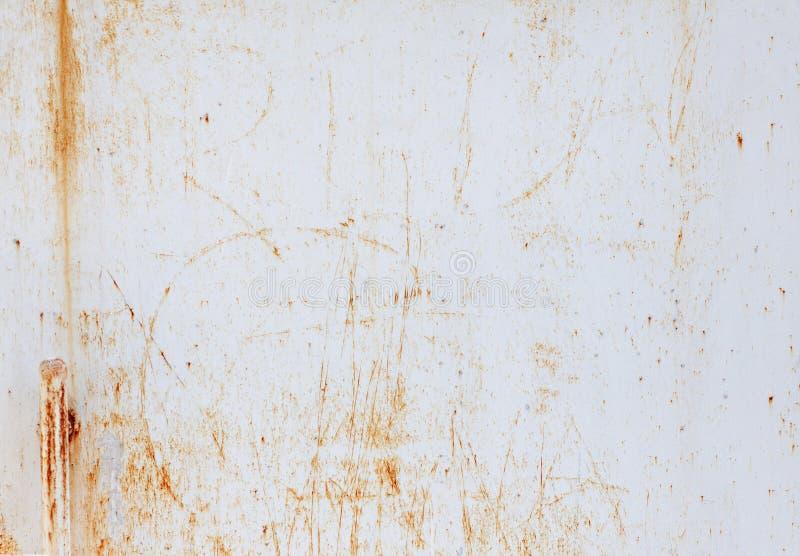 Fondo de la superficie envejecida metal oxidado de la textura fotos de archivo