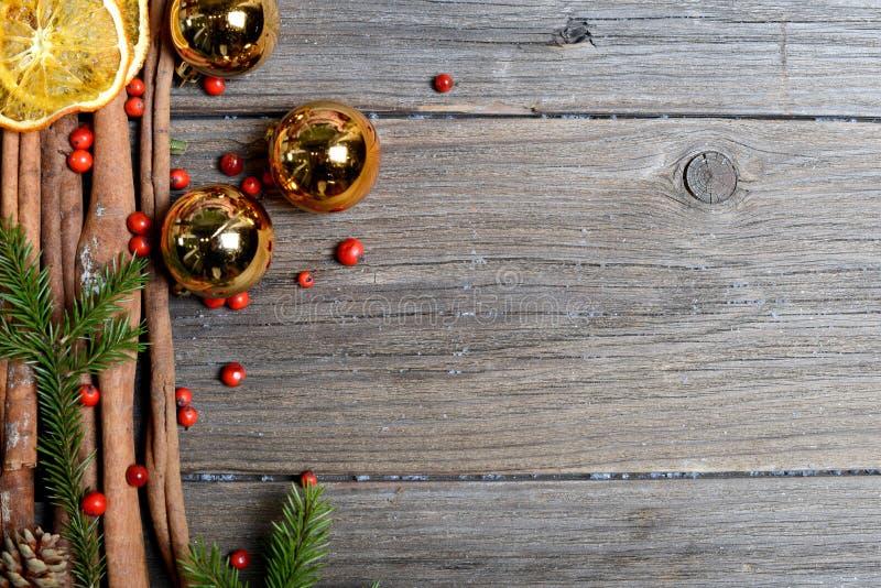 Fondo de la tabla de la Navidad imagenes de archivo