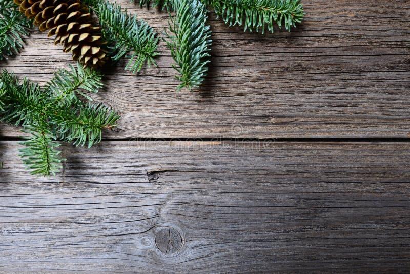 Fondo de la tabla de la Navidad fotos de archivo