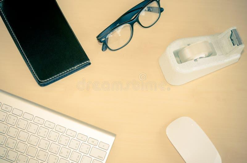 Download Fondo De La Tabla De La Oficina Imagen de archivo - Imagen de blank, teclado: 64207457