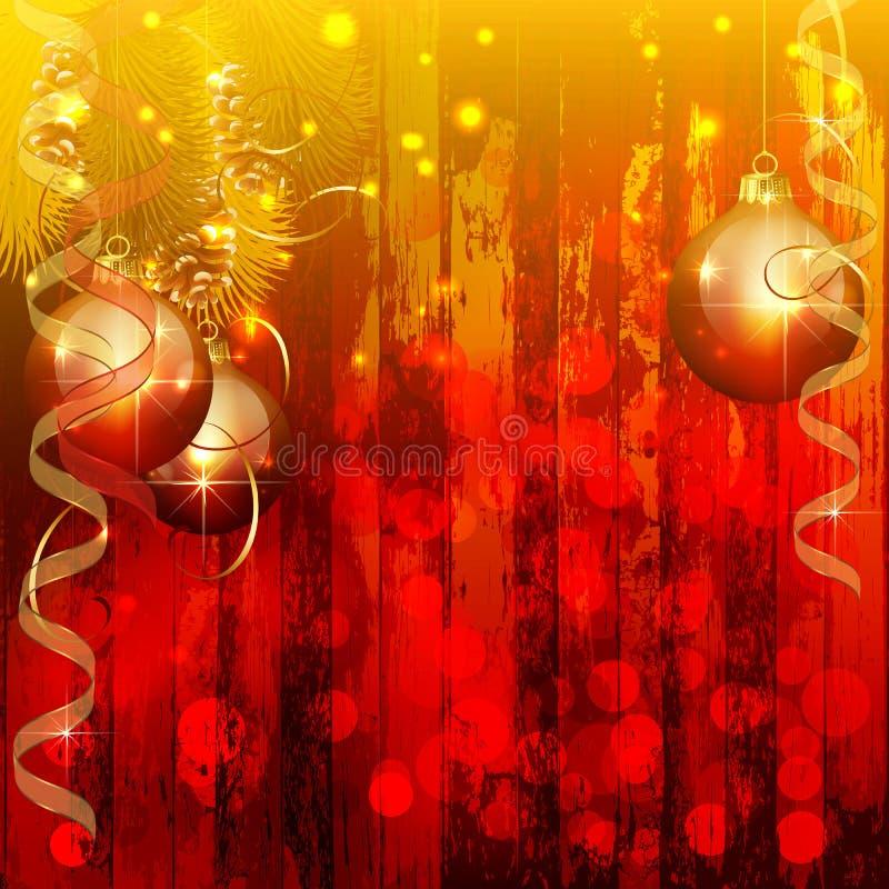 Fondo de la tarjeta de Navidad libre illustration