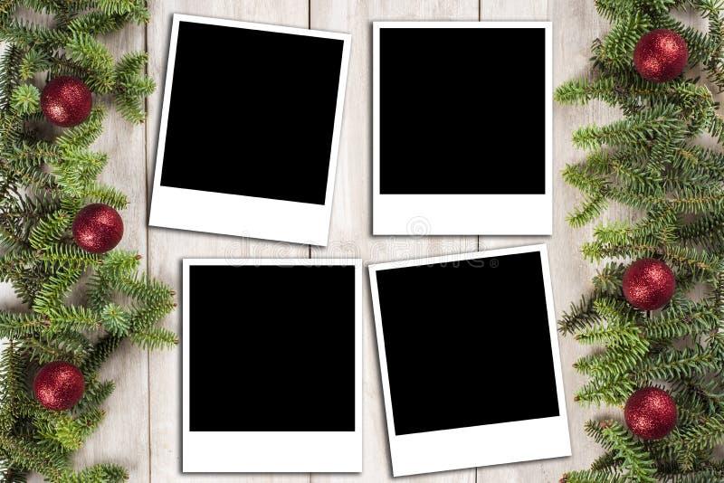 Fondo de la tarjeta de Navidad con un espacio para el texto fotografía de archivo libre de regalías