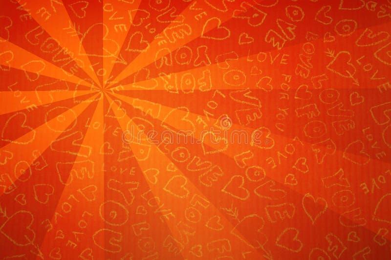 Fondo de la tarjeta del día de San Valentín fotos de archivo
