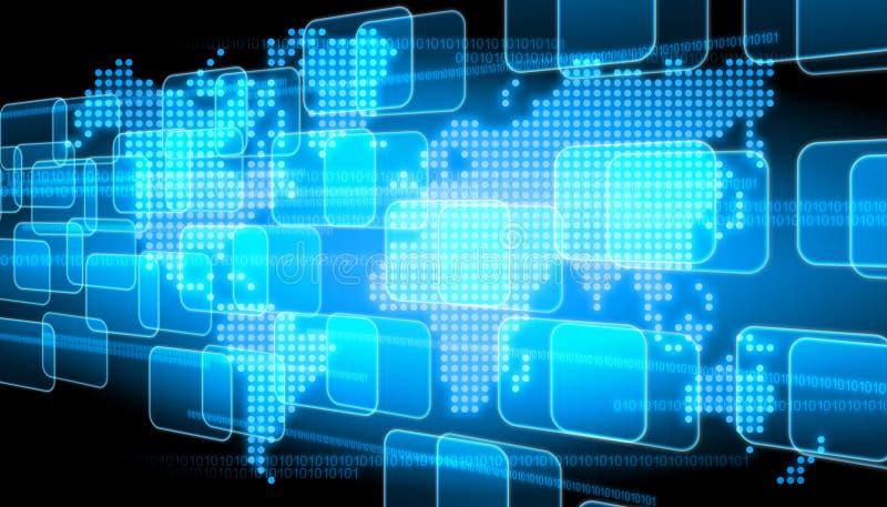 Fondo de la tecnología imágenes de archivo libres de regalías