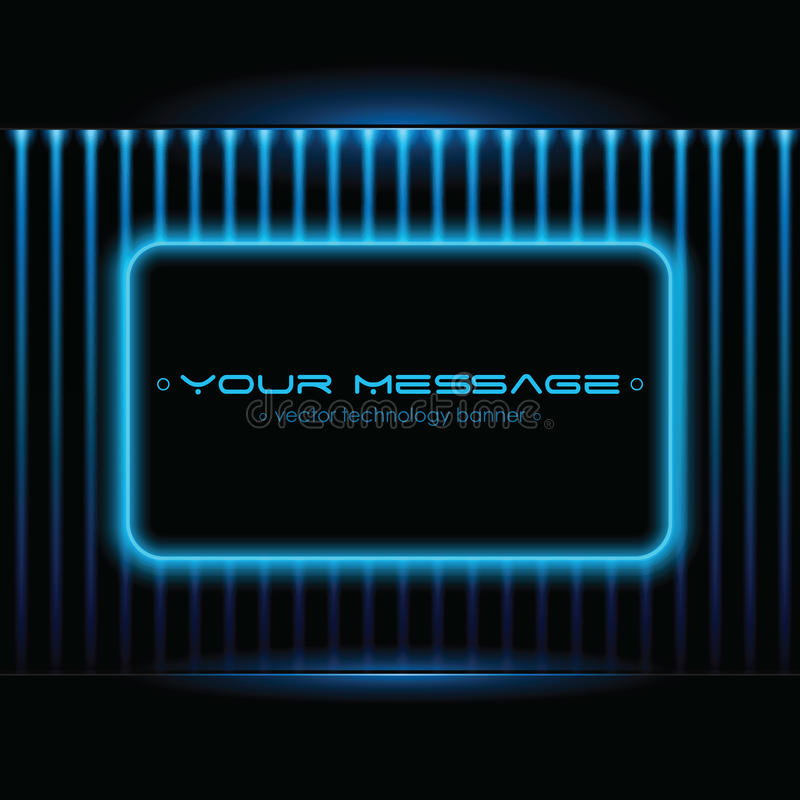 Fondo de la tecnología con el espacio para el texto