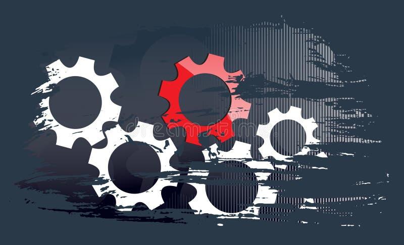 Fondo de la tecnología del asunto ilustración del vector
