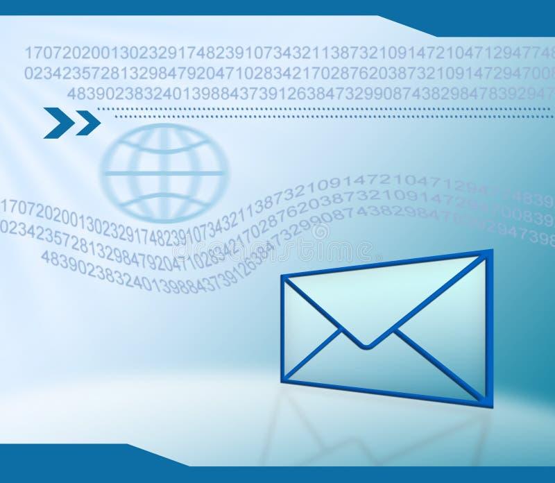 Fondo de la tecnología del email libre illustration