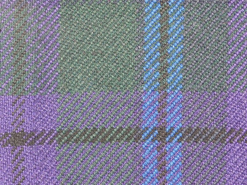 Fondo de la tela del tartán fotos de archivo