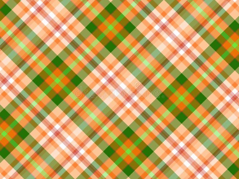 Fondo de la tela escocesa libre illustration